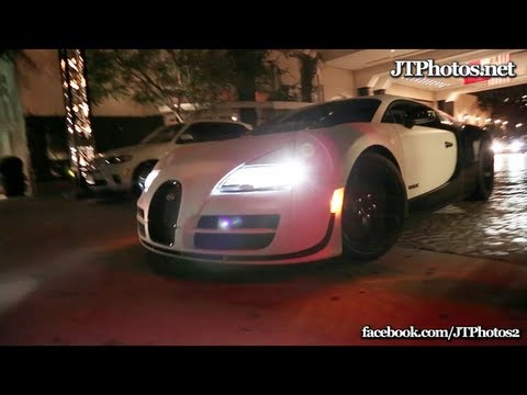 Bugatti Veyron Super Sport EPIC flybys and cruise through Beverly Hills